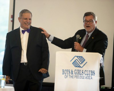 Boys & Girls Clubs of Pee Dee honors Buddy Brand as Champion of Youth