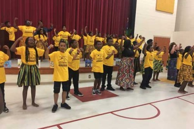 Freedom Schools Program holds finale performance