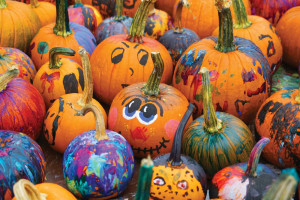 Pumpkin Painting at Forest Lakes Greenhouse