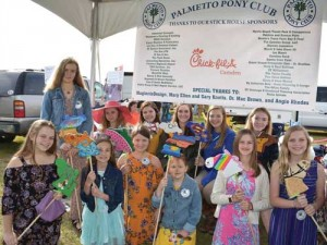 Pony Club holds 2nd Annual Stick Horse Races at Carolina Cup