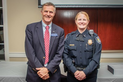 Myrtle Beach Police Chief Prock  honored as Psychology's alum of the year