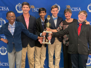 QUIZ BOWL TEAM WINS STATE TITLE