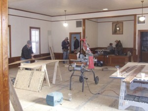 St. Paul UMC team helps rebuild flooded church