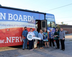 National tour bus brings  new charter to Florence