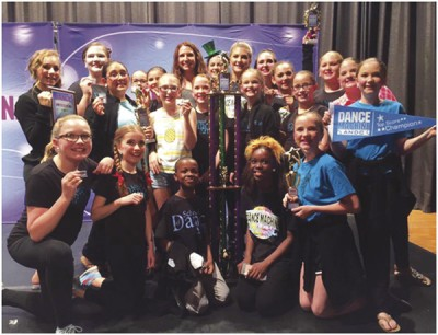 School of Dance Arts teams get awards at national contest