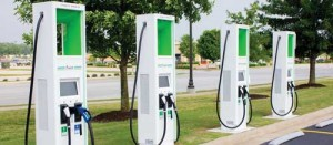 Supercenter gets charging stations