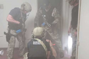 SWAT team trains  with first responders
