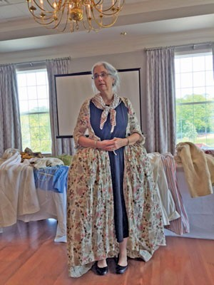 DAR chapter presented  fashion show from the past