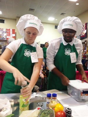 Senior 4-H cooking team to compete in national contest