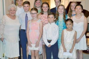 Sawyer Piano students present recital