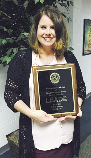 FCS teacher selected for LEAD program