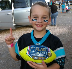 Local youth wins NFL Punt, Pass, Kick contest