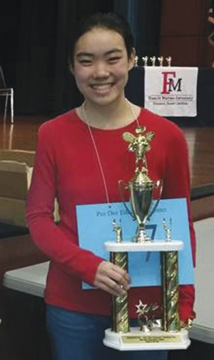 Rebecca Liu advances to National Spelling Bee