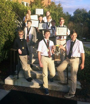 St. Anthony civic team wins state contest