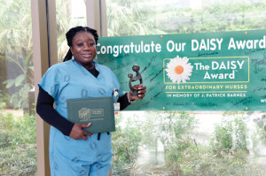 McLeod nurse receives DAISY Award for August