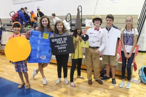Trinity-Byrnes students celebrate foreign languages