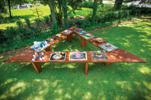 FMU pays tribute to great women  with 'The Supper Table' exhibit