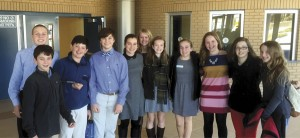 Trinity-Byrnes math teams compete in SCISA meet