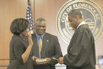 Florence City Council members sworn in at City Center