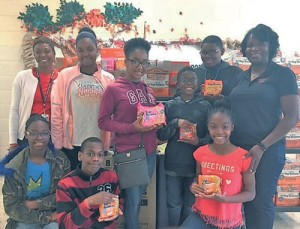 Students feed hungry children