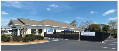 Drive through testing Urgent care facility on Irby St.  being used by MUSC Health