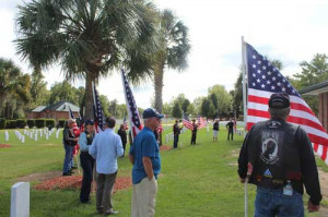 With full honors Unclaimed vet given final salute  at Florence National Cemetery