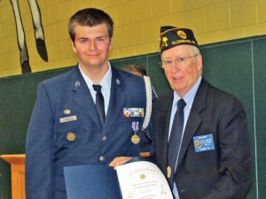 West Florence holds AFJRROTC ceremony