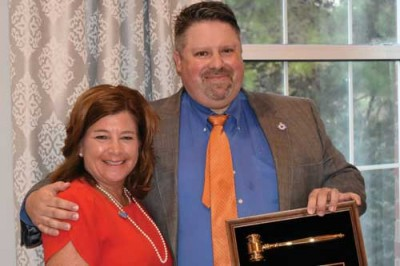 Florence Rotary swears in Pate as president