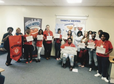 Timmonsville High Club raises funds  for Heart Association