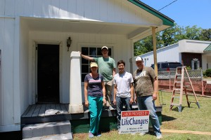 Lifechangers improve six homes