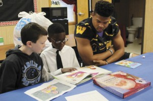 Wilson students participate in Read to Succeed Program at Carver