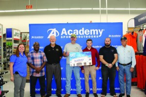 Academy Sports + Outdoors partners with Florence Police Department  to surprise six local veterans with $150 shopping sprees