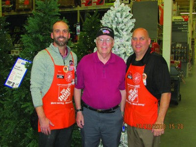The Home Depot Foundation awards grant to Post 1