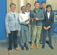 Trinity-Byrnes  Quiz Bowl Team
